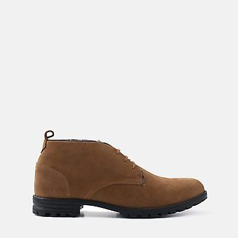 Harry chestnut suede desert boot