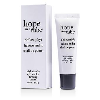 Esperança em um tubo de alta densidade olho e creme de firmamento labial 47611 14.2g / 0.5oz