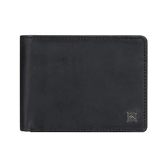 Quiksilver Mack X Leather Wallet in Black