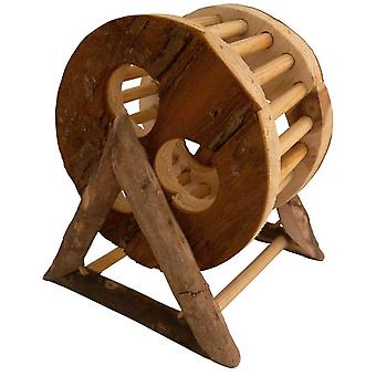 Tyrol Wooden Wheel (Small pets , Cage Accessories , Bridges & Stairs)
