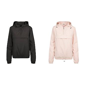 Build Your Brand Womens/Ladies Basic Pullover Jacket