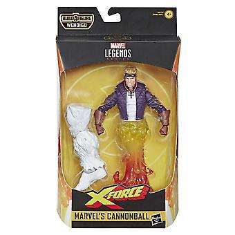 Hasbro Marvel Legends X-Force Cannonball 6&Action Kuva