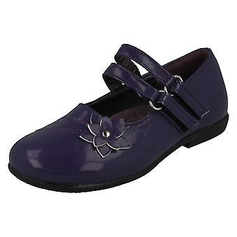 Girls Cutie Qt  Shoes Flower Detail H2160