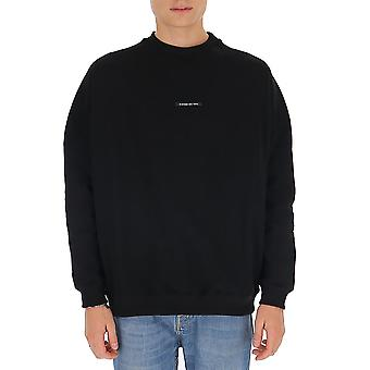 Buscemi Bmw19254 Men's Black Cotton Sweater
