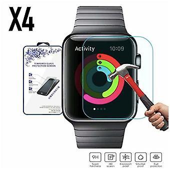 4X Kunststoff-Wrap-Bildschirm-Schutz - Apple Watch 4 3 2 1 42MM