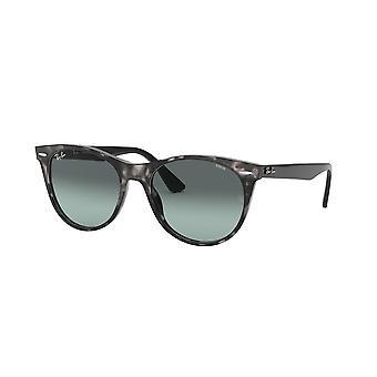 Ray-Ban Wayfarer II Evolve RB2185 1250AD Grey Havana/Light Blue Photochromic Sunglasses
