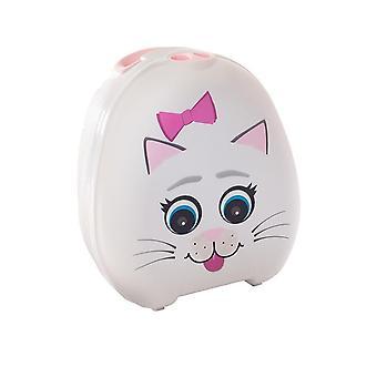My carry potty - travel potty - cat