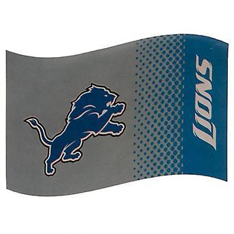 Detroit Lions Flag FD