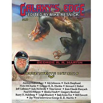 Galaxys Edge Magazine Issue 20 May 2016 George R. R. Martin Special by Resnick & Mike