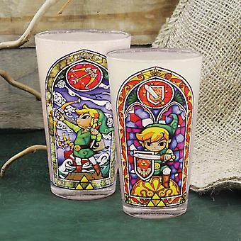 Zelda Links Glass
