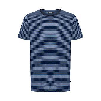 Jermane Dust Blue Striped T-Shirt