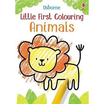Little First Colouring Animals by Kirsteen Robson