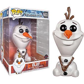 "Frozen II Olaf US Exclusive 10"" Pop! Vinil"