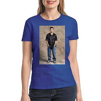 Married With Children Bud Bundy Women's Royal Blue T-shirt