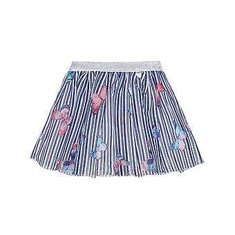 Alouette Girls' Stripe Skirt With Tulle And Glitter