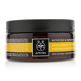 Nourish & repair hair mask with olive & honey (for dry damaged hair) 218826 200ml/6.81oz