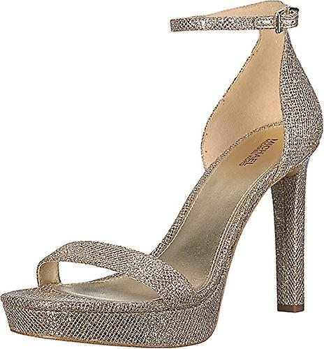Michael Michael Kors Womens Margot Platform Suede Open Toe Special Occasion A... URzB9j