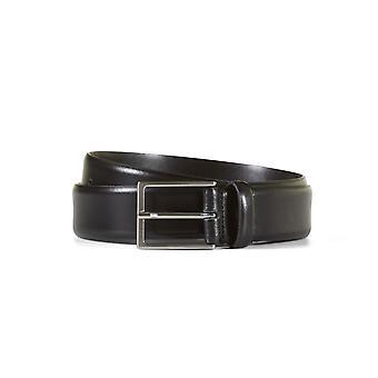 Leather belt nathan black