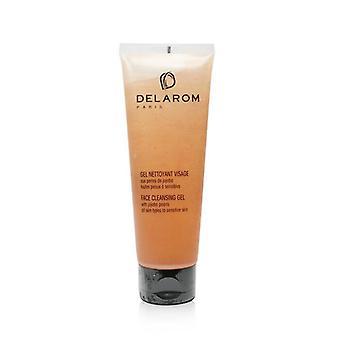 DELAROM Gesicht Reinigungsgel - für alle Hauttypen, empfindliche Haut 125 ml/4,2 oz