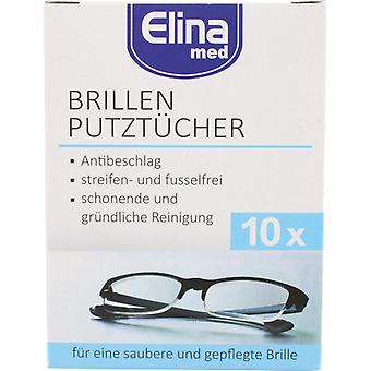 Brillenservietten / Optical Wipes 10-Pack