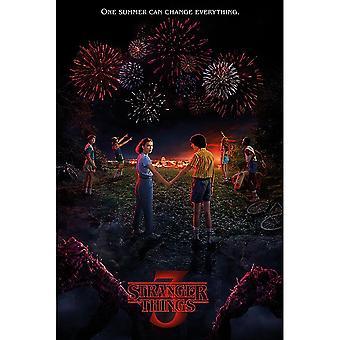 Stranger Things 3 officiële poster