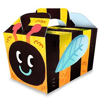 Single Bumble Bee Card Party Food or Treat Box