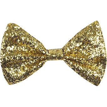 Glitter Bow Tie - France Golden Bow Tie - France Bow Tie Or