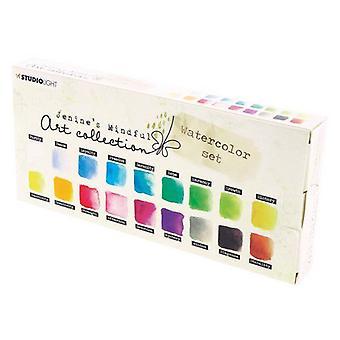 جنين & apos;ق الفن الواعي 2.0 الألوان المائية أكواريلست -