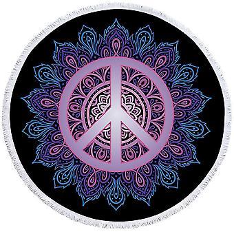 Mandala Peace ranta pyyhe
