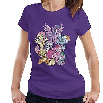 My Little Pony Spike And The Squad Women's T-Shirt
