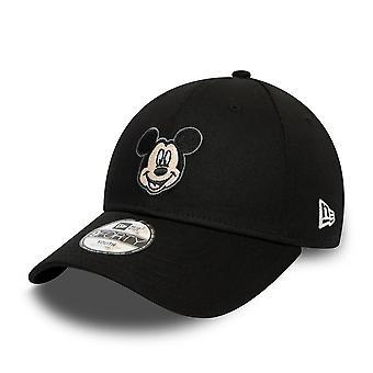 New Era 9Forty Boys Cap - DISNEY Mickey Mouse Black