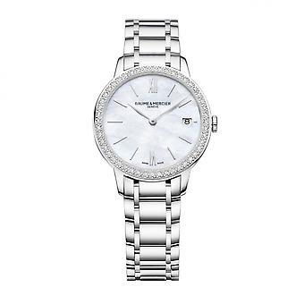 Baume & Mercier BM0A10478 Ρολόι χειρός με σετ διαμαντιών Classima