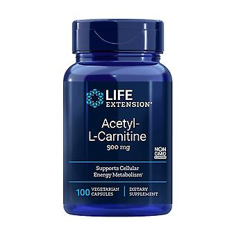 Acetyl L-Carnitine 100 vegetable capsules