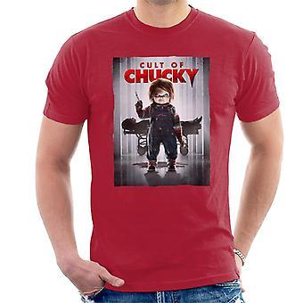 Chucky cultus van Chucky poster mannen ' s T-shirt