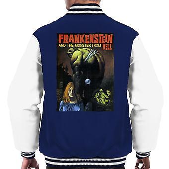 Hammer Horror films Frankenstein bungelen Eye Ball mannen ' s Varsity Jacket