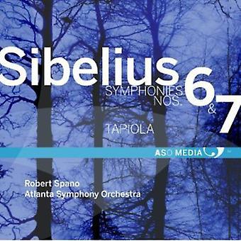 ジャン ・ シベリウス - シベリウス: 交響曲第 6 番・ 7;タピオラ [CD] USA 輸入