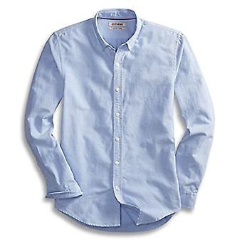 "Goodthreads Men's ""The Perfect Oxford Shirt"" Slim-Fit Long-Sleeve Solid, Blue..."