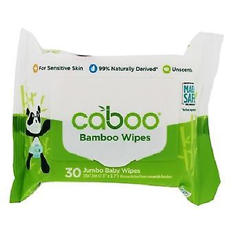 Caboo Bamboe Ongescenterde baby doekjes