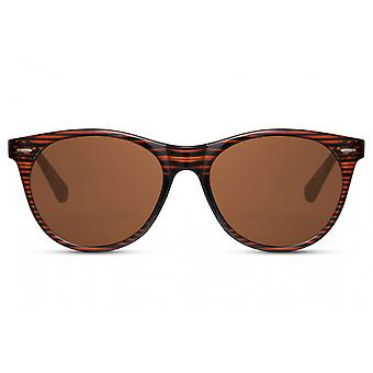 Sunglasses Unisex wayfarer fully framed kat. 3 brown/brown