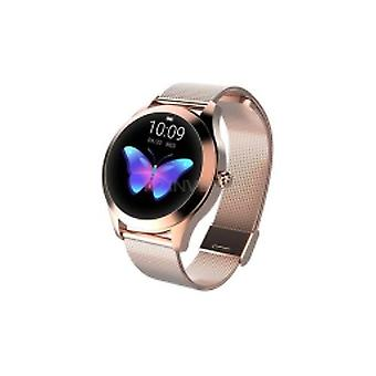 Women's smartwatch L10 with touchscreen RGB, heart rate, calories, pedometer - gold