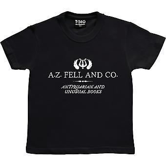 A.Z. Fell og Co Black Kids' T-shirt