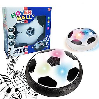 Air Powered, Flashing Soccer Ball, Indoor Football Toy With Colorful Music And