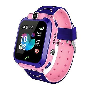 barn smart watch barn 4g wifi gps tracker barneklokke telefon digital sos alarm