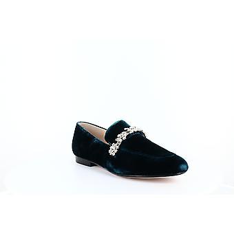 Ivanka Trump | Wareen 2 Velvet Jeweled Fashion Loafers