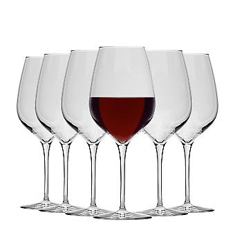 Bormioli Rocco Inalto Tre Sensi Extra Large Wine Glasses Set - 650ml - Pachet de 6