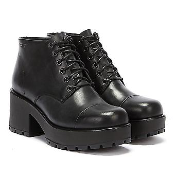 Vagabond Womens Black Dioon Boots
