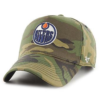 47 Brand Adjustable Cap - GROVE Edmonton Oilers wood camo