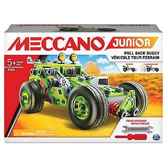 Meccano Junior Deluxe Racecar (1pc Random Style)