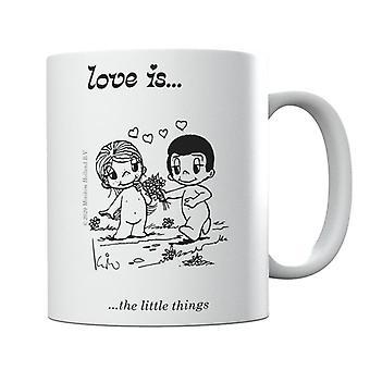 Love Is The Little Things Mug