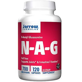 Jarrow Formulas N-A-G, 700 mg, 120 Caps